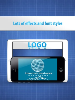 Screenshot Logo Studio Designer on iPad