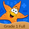 1st Grade Splash Math Game for kids teaching basic numbers, counting money & coins in primary school