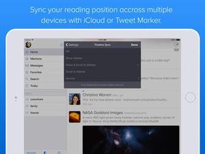 Screenshot Twitterrific 5 for Twitter on iPad