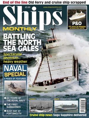 Screenshot Ships Monthly Magazine on iPad