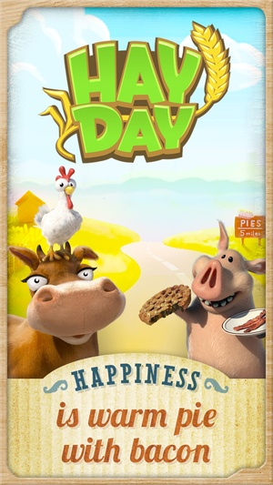 Screenshot Hay Day on iPhone