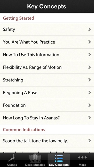 Screenshot 3D Yoga Anatomy Lite on iPhone