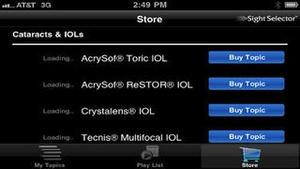 Screenshot Sight Selector Lite on iPhone