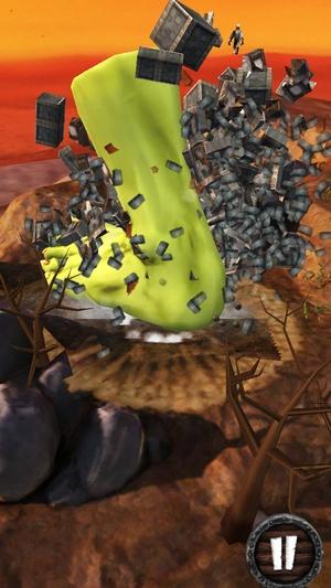 Screenshot Warhammer: Snotling Fling on iPhone