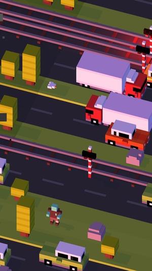 Screenshot Crossy Road - Endless Arcade Hopper on iPhone