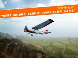 Screenshot Flight Pilot Simulator 3D on iPad