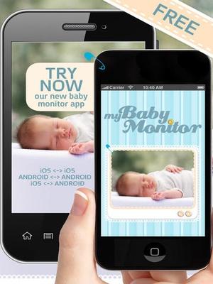 Screenshot My Baby Monitor on iPad