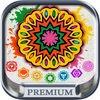 Mandalas coloring book Secret Garden colorfy game for adults