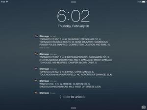 Screenshot iDamage on iPad