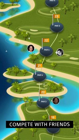 Screenshot Pro Feel Golf on iPhone