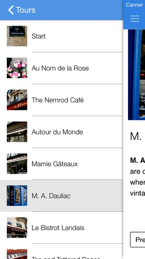 Screenshot Girl's Guide to Paris: Shopping & Sightseeing on iPhone