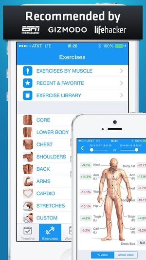 Screenshot Fitness Buddy on iPhone