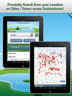 Screenshot iFish Saskatchewan on iPad