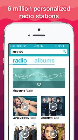 Screenshot Free MP3Box on iPhone