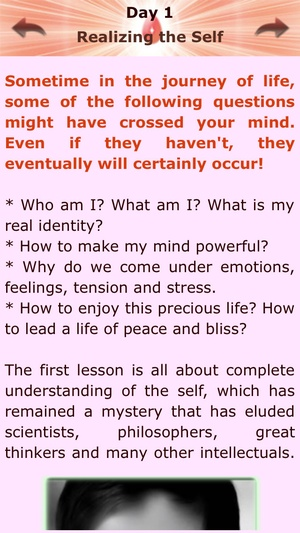 Screenshot Brahma Kumaris 7 Days Course on iPhone