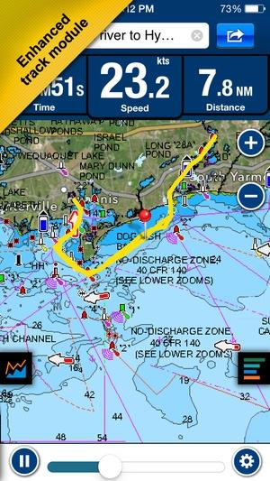 Screenshot Boating Europe on iPhone