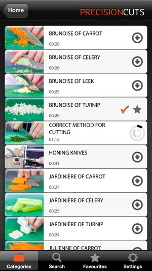 Screenshot Culinary Fundamentals on iPhone