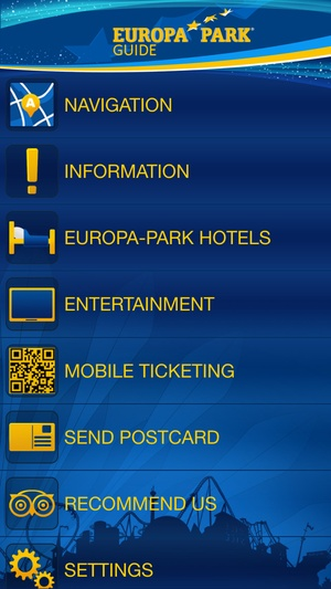 Screenshot Europa on iPhone