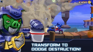 Screenshot Angry Birds Transformers on iPhone