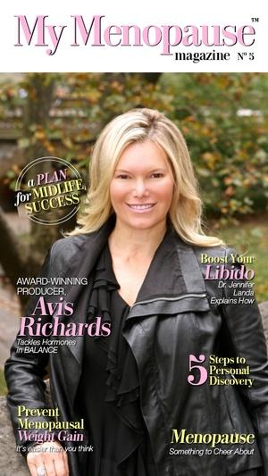 Screenshot My Menopause Magazine on iPhone