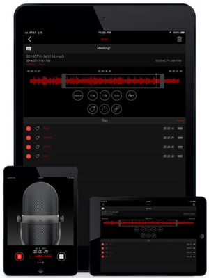 Screenshot Awesome Voice Recorder Pro on iPad