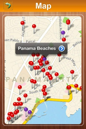 Screenshot Panama Offline Travel Guide on iPhone