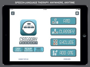 Screenshot Category Therapy on iPad
