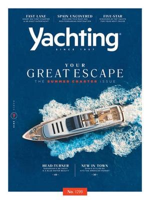 Screenshot Yachting Mag on iPad