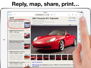 Screenshot Daily, an app for Craigslist (Universal Version) on iPad
