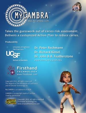 Screenshot MyCAMBRA on iPad