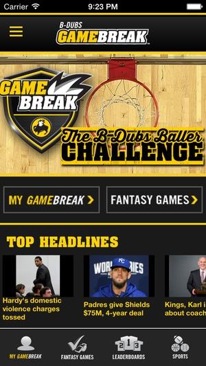 Screenshot B on iPhone