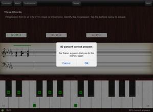 Screenshot Ear Trainer on iPad