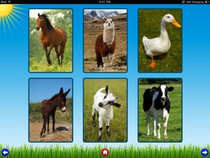 Screenshot Farm Sounds on iPad