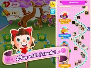 Screenshot Candy Crush Soda Saga on iPad