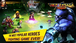 Screenshot Heroes Saga en on iPhone