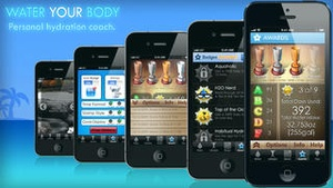 Screenshot Water Your Body Lite on iPhone