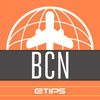 Barcelona Travel Guide with Offline City Street and Subway Maps