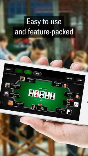 Screenshot PokerStars.net Free Poker  on iPhone