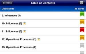Screenshot Excel HSC Business Studies Quick Study on iPhone