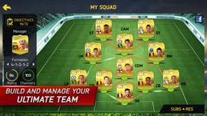 Screenshot FIFA 15 Ultimate Team on iPhone