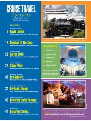 Screenshot Cruise Travel Magazine on iPad