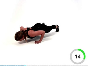 Screenshot Virtual Trainer Bodyweight on iPad
