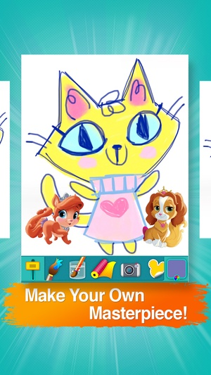 Screenshot Disney Creativity Studio 2 on iPhone
