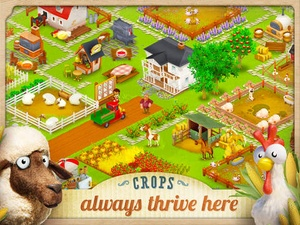 Screenshot Hay Day on iPad