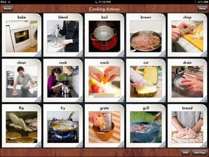 Screenshot i Get... Cooking Vocabulary and Create Recipe Photo Sequence Books on iPad