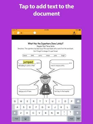 Screenshot SnapType Pro on iPad