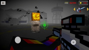 Screenshot Block Combat Pumpkin Shooter Survival Mine Mini Game with skins exporter for minecraft on iPhone