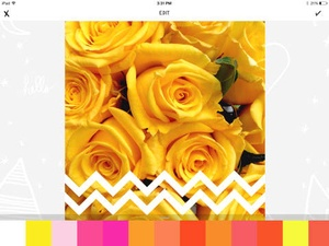 Screenshot A Beautiful Mess on iPad