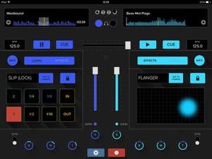 Screenshot deej on iPad