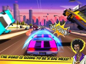 Screenshot Adrenaline Rush Miami Drive on iPad